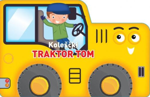 Image for Traktor Tom (kartonka z vrtljivimi kolesi) from emkaSi