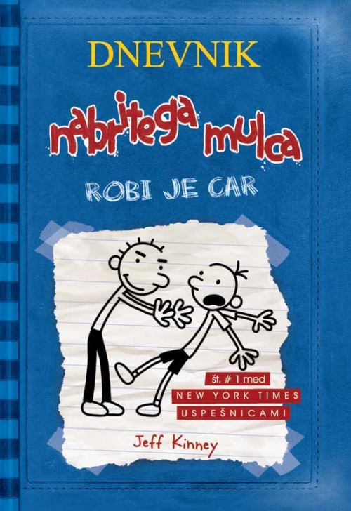 Image for Dnevnik nabritega mulca: Robi je car (2. knjiga) from emkaSi