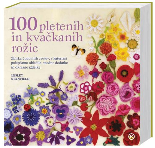 Image for 100 pletenih in kvačkanih rožic from emkaSi