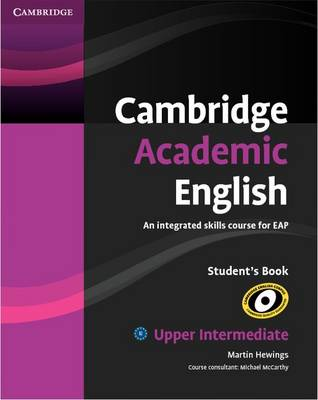 Image for Cambridge Academic English B2 Upper Intermediate Student's Book: An Integrated Skills Course for EAP from emkaSi