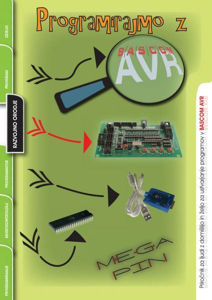 Image for Programirajmo z BASCOM AVR from emkaSi