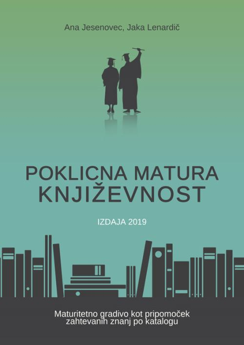 Image for Poklicna matura - književnost 2019 from emkaSi