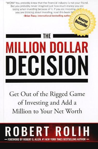 Image for Million Dollar Decision - get out of the rigged game of investing and add a million to your net worth from emkaSi