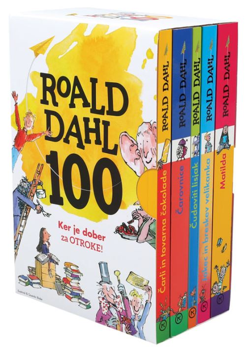 Image for Roald Dahl - Jubilejni komplet from emkaSi