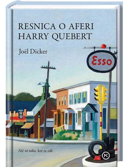 Image for Resnica o aferi Harry Quebert from emkaSi