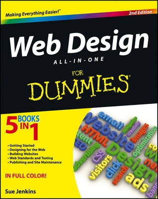 Image for Web Design All-in-One For Dummies from emkaSi