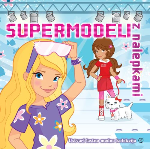Image for Supermodeli z nalepkami from emkaSi