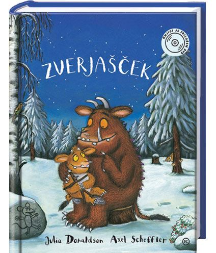 Image for Zverjašček (knjiga + DVD) from emkaSi