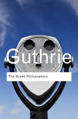Image for The Greek Philosophers: From Thales to Aristotle from emkaSi