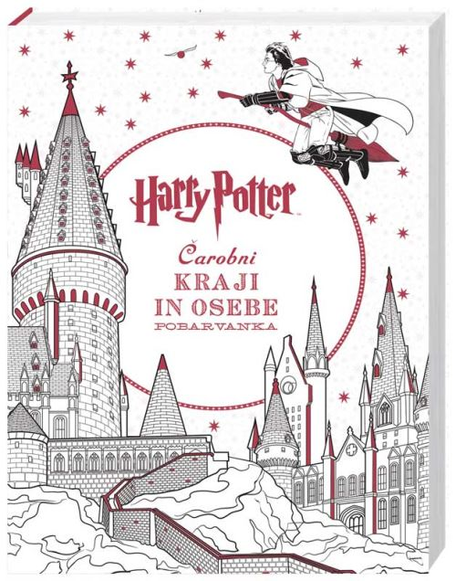 Image for Harry Potter: Čarobni kraji in osebe - Pobarvanka from emkaSi