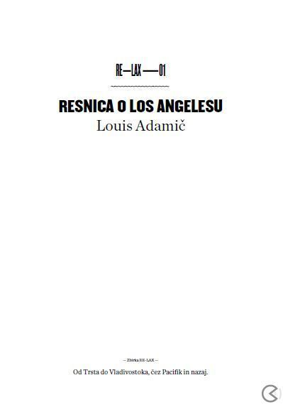 Image for Resnica O Los Angelesu from emkaSi