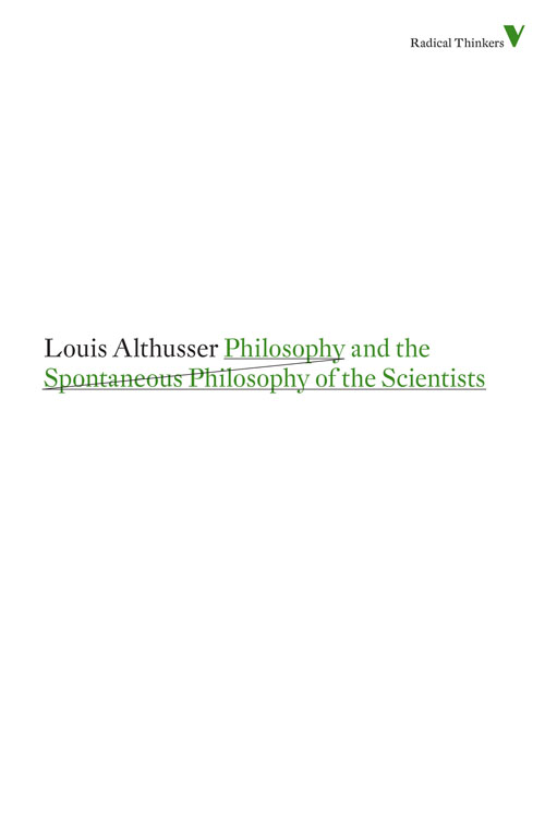 Image for Philosophy and the Spontaneous Philosophy of the Scientists from emkaSi