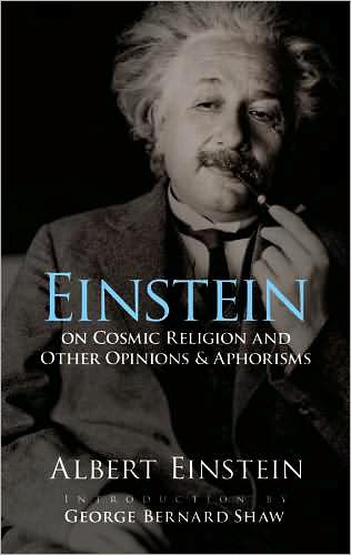 Image for Einstein on Cosmic Religion and Other Opinions and Aphorisms from emkaSi